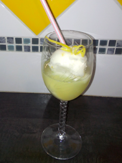 sorbet citron coupe verrine liqueur de citron