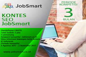 Kontes blog seo jobsmart indonesia 2017