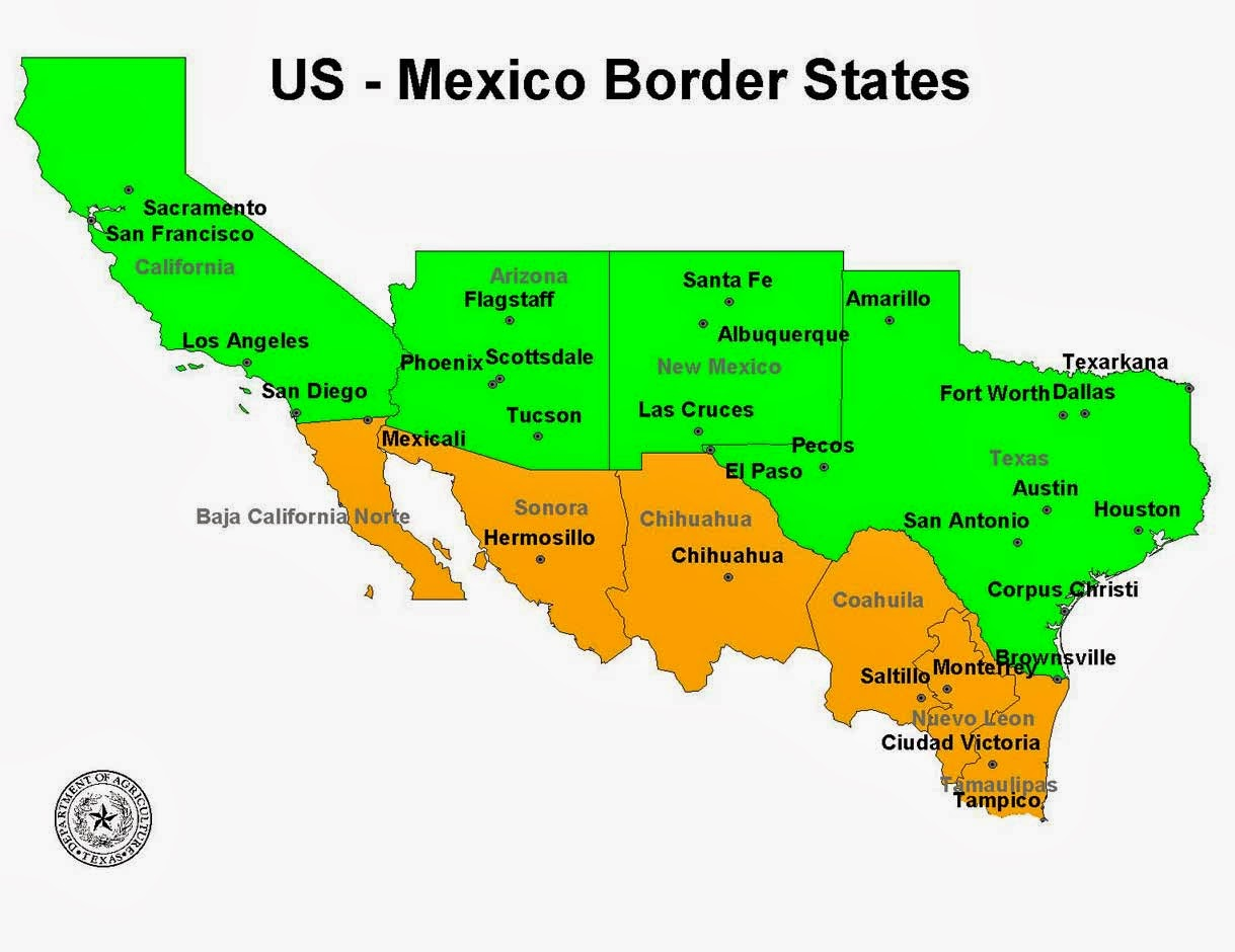 Springtime Of Nations Tax Hike In Mexican Border Region