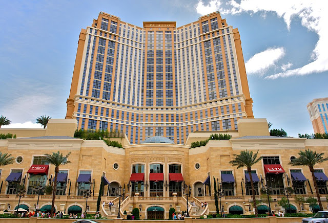 This luxurious resort and casino is on the Las Vegas Strip, connected to sister property The Venetian by walks and waterways. Downtown is 3 miles away and McCarran Airport is within 4 miles.