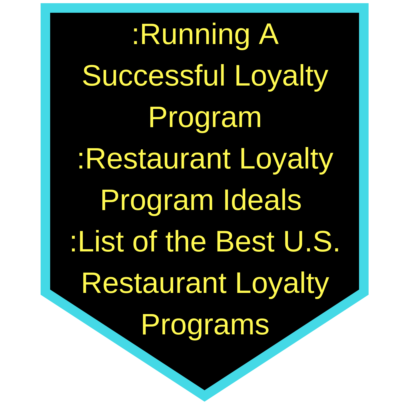 Loyalty Rewards Program >> Launching A Loyalty Rewards Program For Your Restaurant