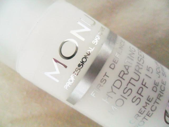 Monu Professional Skincare – Hydrating Moisturiser SPF15