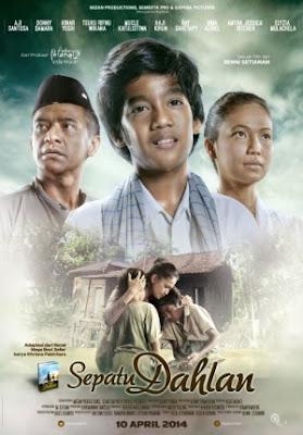 Poster Film Sepatu Dahlan