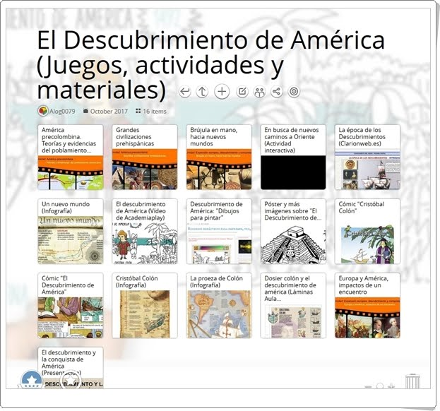 """""""21 Actividades interactivas y materiales didácticos para la celebración de EL DÍA DEL DESCUBRIMIENTO DE AMÉRICA"""" (Día 12 de Octubre)"""