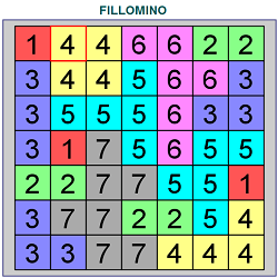 Fillomino Online (Logical Thinking Puzzle Game)