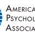 Recomendações da Associação Americana de Psicologia para tratamento de depressão