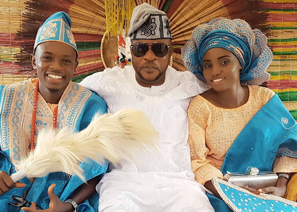 odunlade adekola brother wedding photos