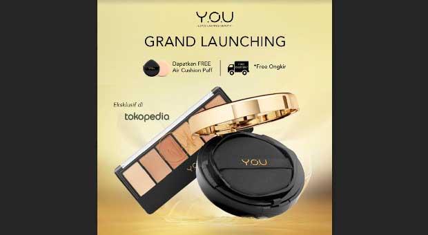 Y.O.U Jangkau Pasar Digital dengan Hadirkan Official Store di Tokopedia