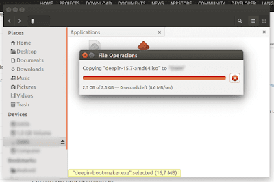 How to Fix the destination is read-only while copying in Ubuntu