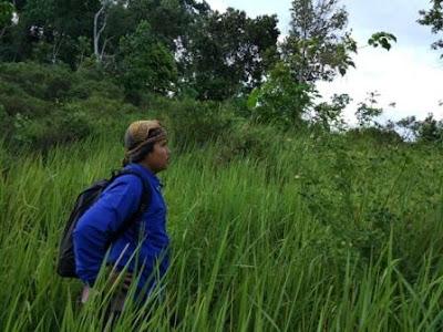 Mencari Jejak Bukit Pangonan Yang Konon Katanya padang ilalang