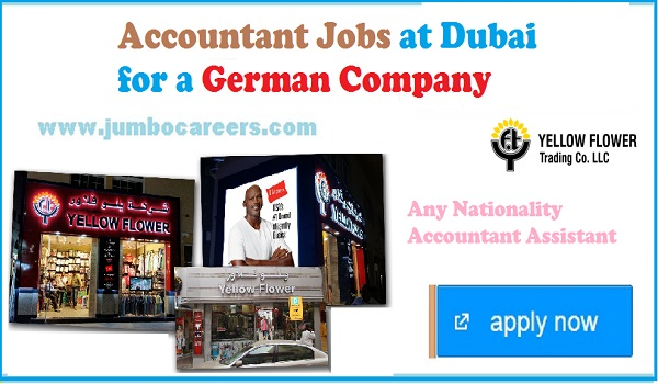 Latest Accountant jobs in Dubai, UAE jobs with salary,