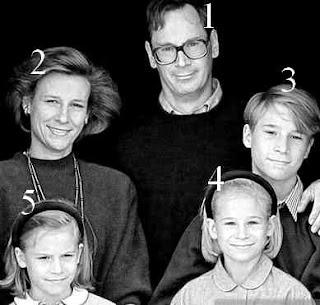 Richard duc de Gloucester avec sa femme et ses trois enfants