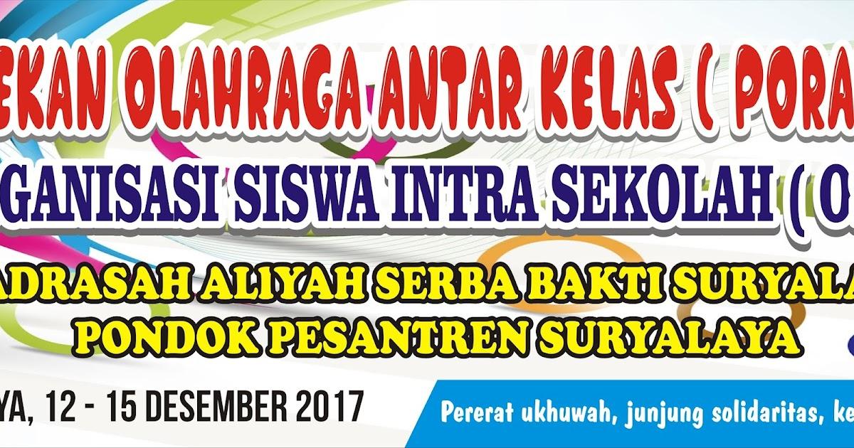 Download Contoh Spanduk Porak Cdr Karyaku