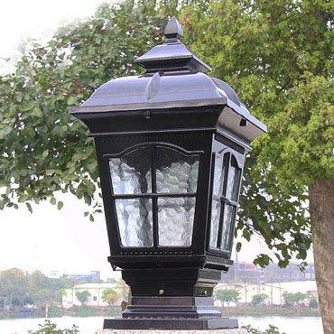 Bộ sưu tập đèn trụ cổng trang trí kiểu dáng sang trọng cho không gian ngoại thất