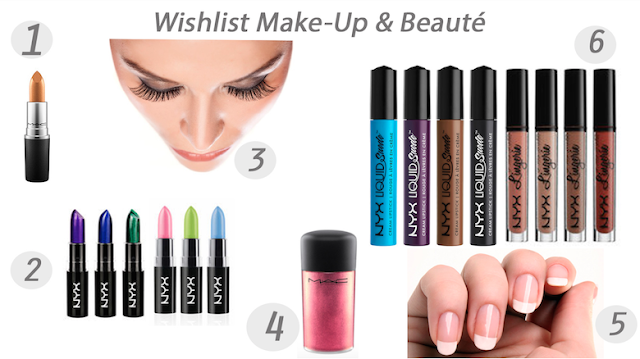 blog mode wishlist, wishlist beauté, wishlist anniversaire, birthday wishlist, make up wishlist, beauty wishlist