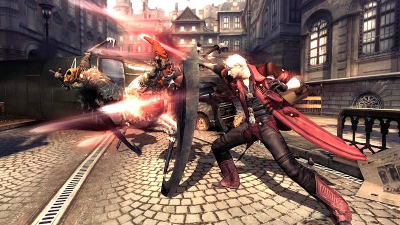 تحميل لعبة Devil May Cry 4 مضغوطة برابط واحد مباشر + تورنت كاملة مجانا