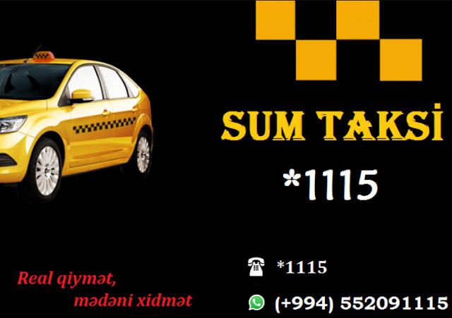SUMQAYITDA YENİ TAKSİ XİDMƏTİ - *1115