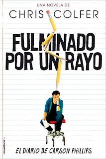 FULMINADO POR UN RAYO - CHRIS COLFER