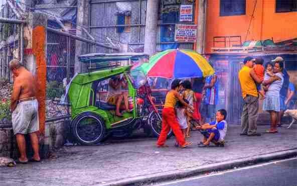 Manila Malate - street view