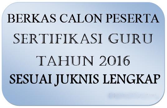 Download Lengkap Berkas & JUKNIS Sertifikasi GURU GRATIS Tahun INI