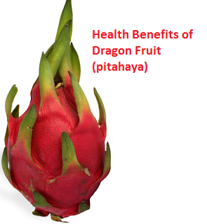 Health Benefits of Dragon Fruit (pitahaya)