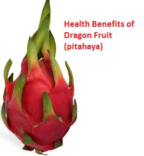 Health Benefits of Dragon Fruit (pitahaya)