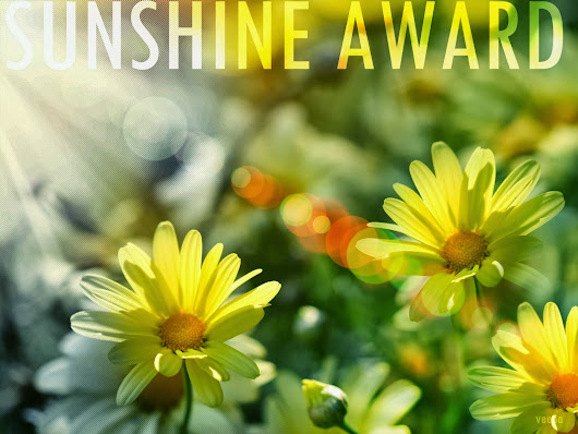 SUNSHINE BLOGGER AWARD ☼☼☼