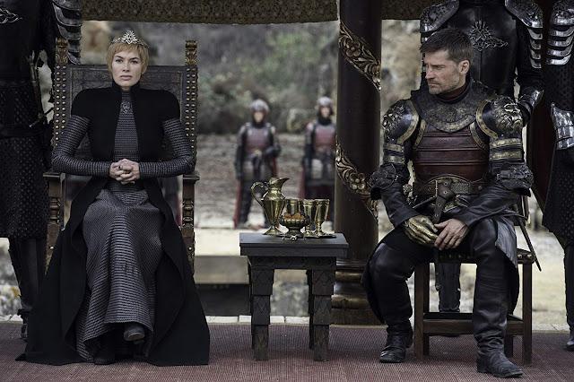 Cersei Lannister (Lena Headey) y Jaime Lannister (Nikolaj Coster-Waldau).