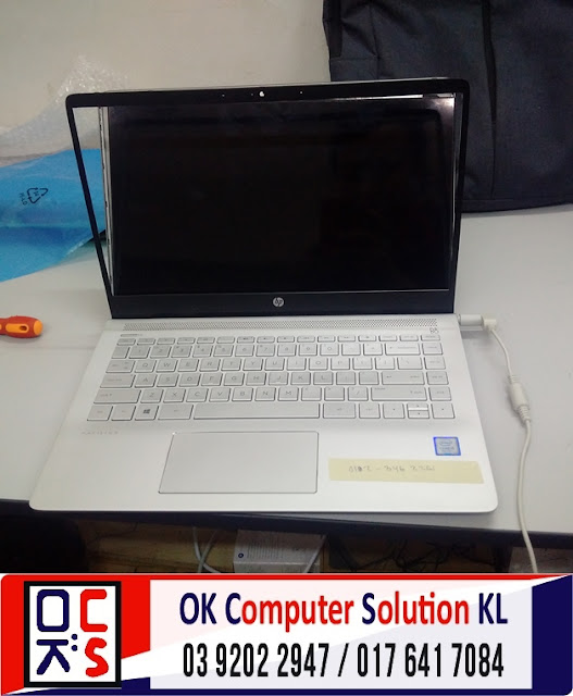 [SOLVED] SKRIN LAPTOP HP 14-bf021TU RETAK | REPAIR LAPTOP CHERAS 2