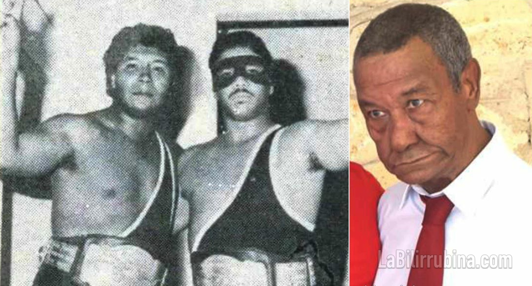 """Luchador dominicano """"El Príncipe Sabud"""""""