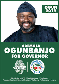 Vote Ademola Ogunbanjo as Governor of Ogun State