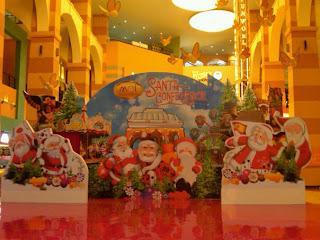 Dekorasi Mall tema Natal / Christmas