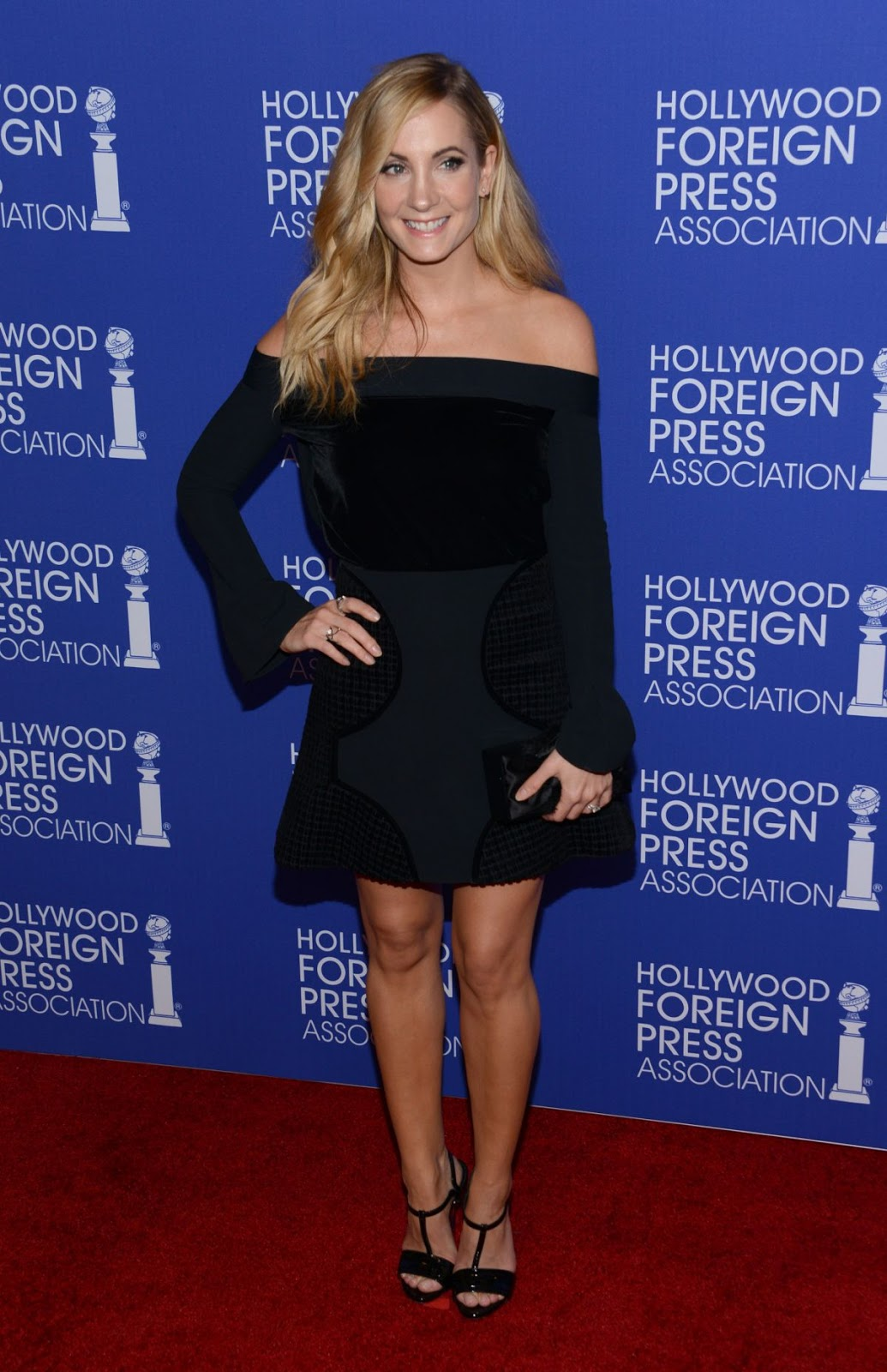 Full HQ Photos of Joanne Froggatt at Hollywood Foreign Press Association's Grants Banquet