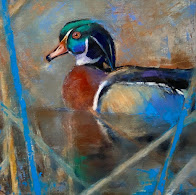 My favorite duck to paint? The wood duck of course. So many wonderful colors!