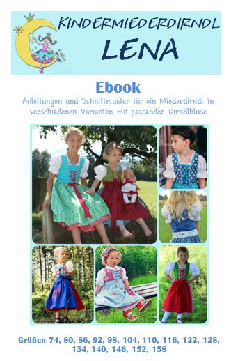 Ebook Kinderdirndl Lena
