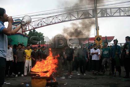 Luar Biasa! Ini Aksi Mahasiswa Kembali Turun ke Jalan, Anggap Rezim Jokowi Semakin Meresahkan