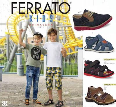 Zapatos Ferrato Kids Niños Prima 2016