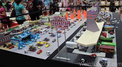 Cars Land toy set up at SuperToyCon 2016