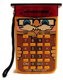 The Little Professor calculator game:
