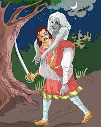 image of vikram and betal