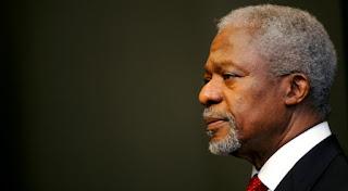 دفن كوفي عنان الرئيس السابق للأمم المتحدة رسميا في غانا 13 سبتمبر القادم