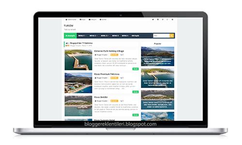 Blogger Turizm Teması