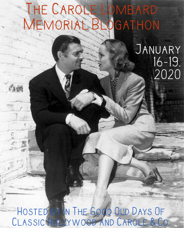 The Carole Lombard Memorial Blogathon