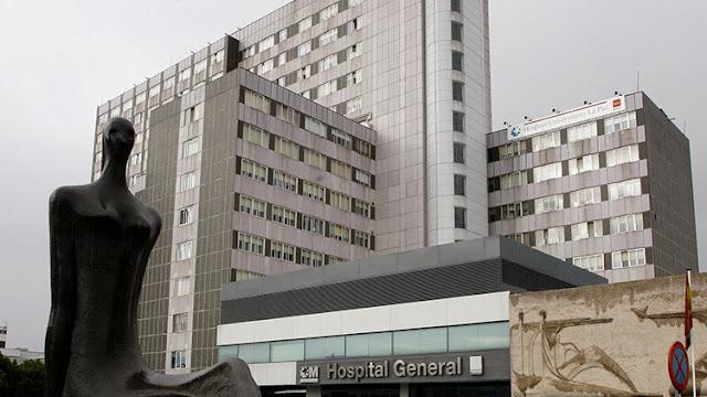 Un hombre se suicida con su bebé en brazos al lanzarse desde una ventana de un hospital en Madrid