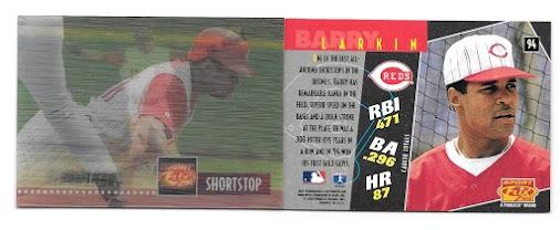 Barry Larkin Collection 549: 1995 Sportflix - #94 Barry Larkin Year:  1995 Brand:  Sportflix Card ...