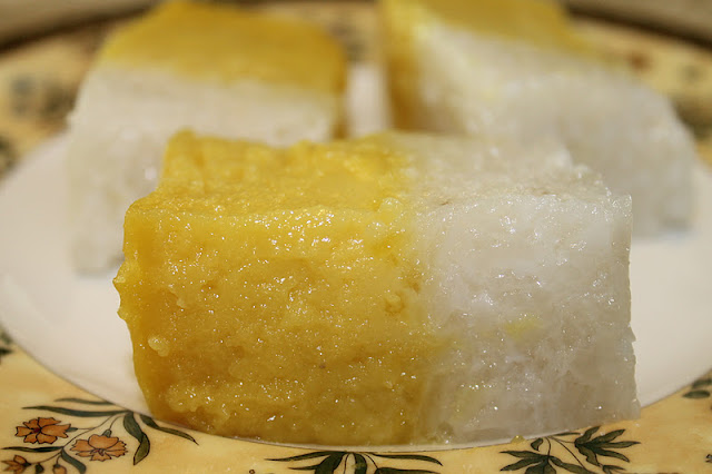 Kuih Seri Muka Durian