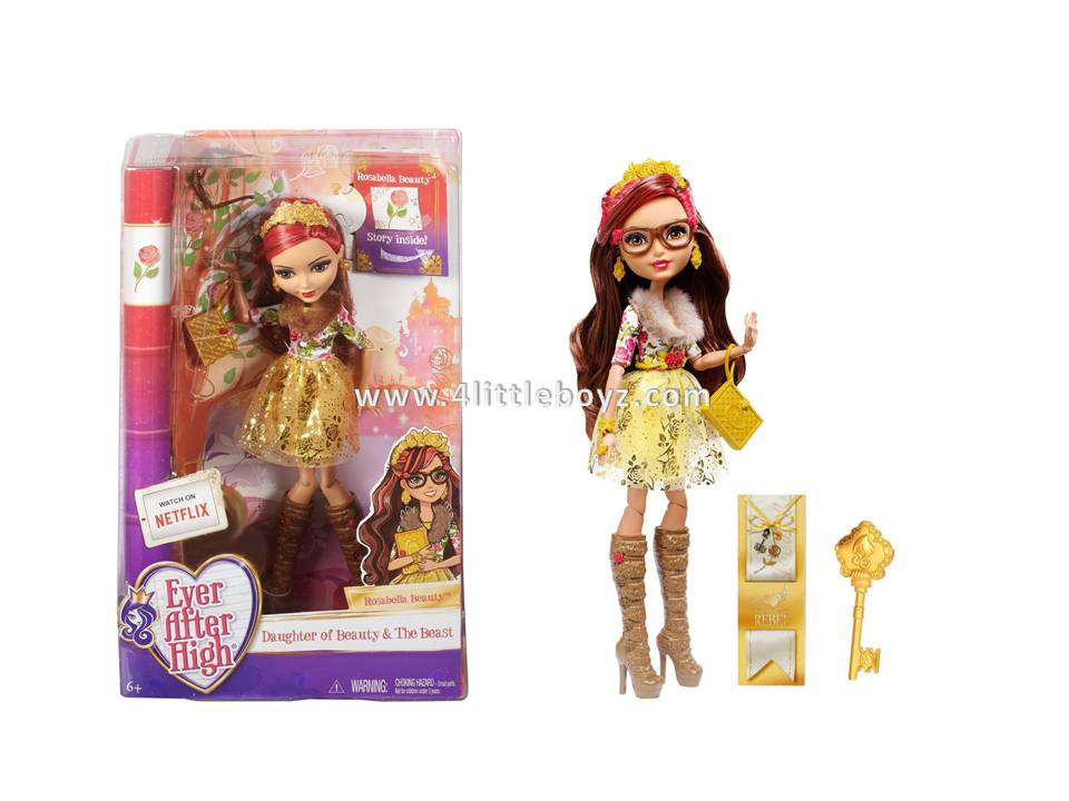 Ever After High Rosabella Beauty Doll  4littleboyzcom