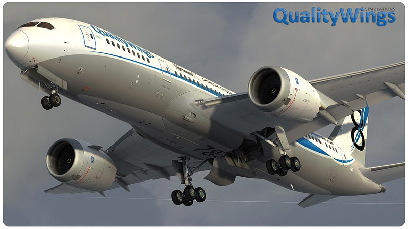 FSX/FSX:SE] - QualityWings - Ultimate 787 Collection v1 1 2a (Rip