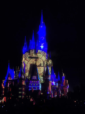 Once Upon a Time projections on castle