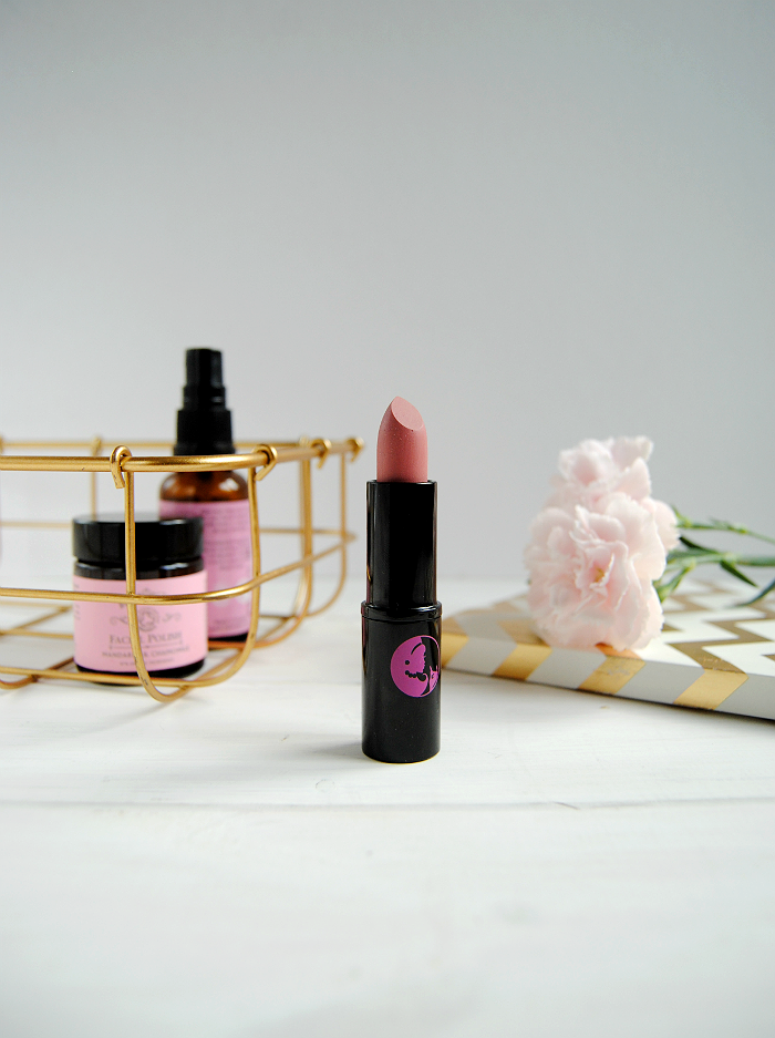 Lippy Girl Vegan Lipstick Schmoopy Review
